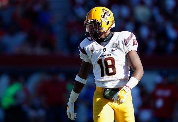 ASU safety James Johnson (Christian Petersen Getty Images Sport)