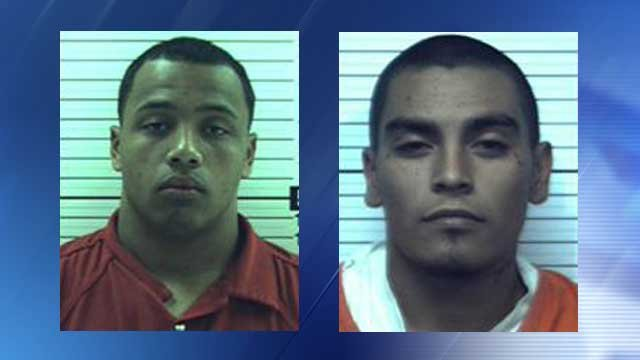 Robert A. Hinderliter (left) and Juan C. Sanchez (Source: Yavapai County Sheriff's Office)