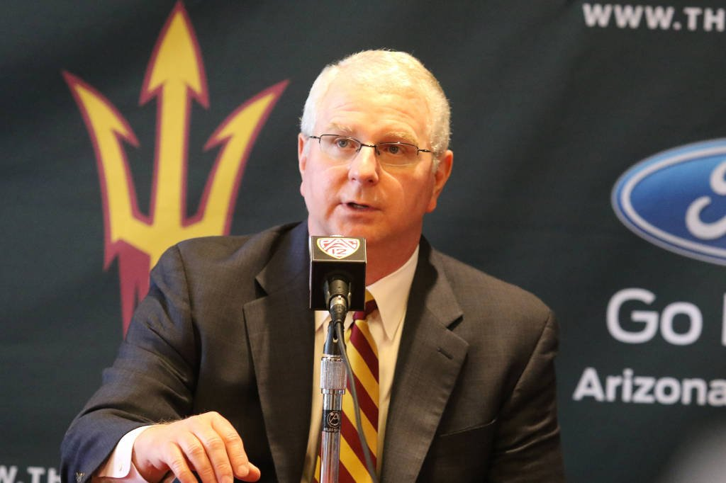 Bob Bowman (Photo: ASU Athletics)
