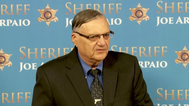 Former Maricopa County Sheriff Joe Arpaio (Source: 3TV/CBS 5 file photo)