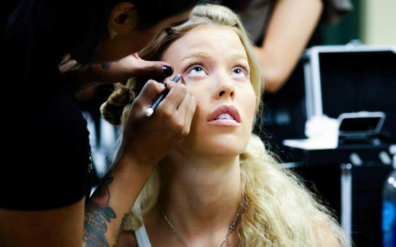 Christa Sandstrom backstage at Tucson Fashion Week 2014, photographer Jacki Sterna (Source: Christopher Cashak)