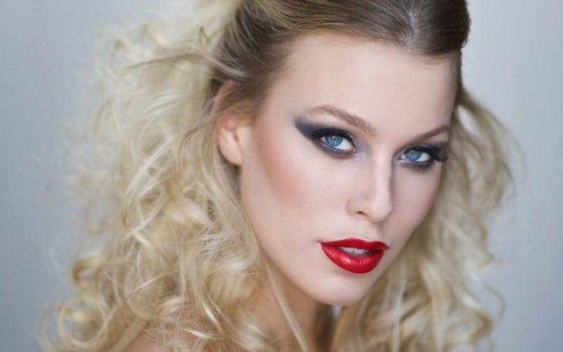Christa Sandstrom beauty photo shoot with photographer David Apeji of Pixyst (Source: Christopher Cashak)