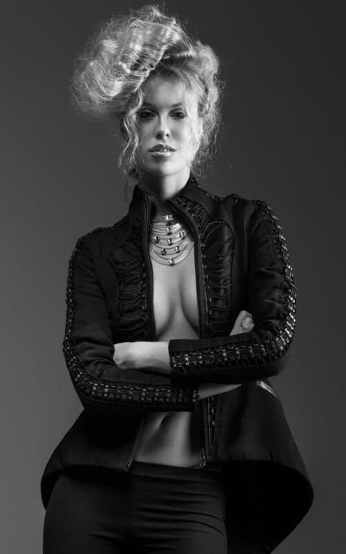 Christa Sandstrom fashion photo shoot with photographer Christos Sewell (Source: Christopher Cashak)
