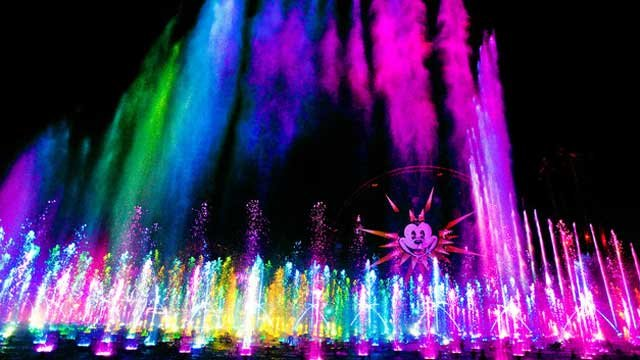 World of Color (Source: Disneyland.com)