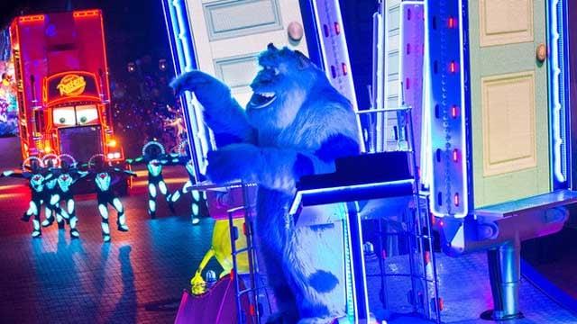 Paint the Night Parade (Source: Disneyland.com)
