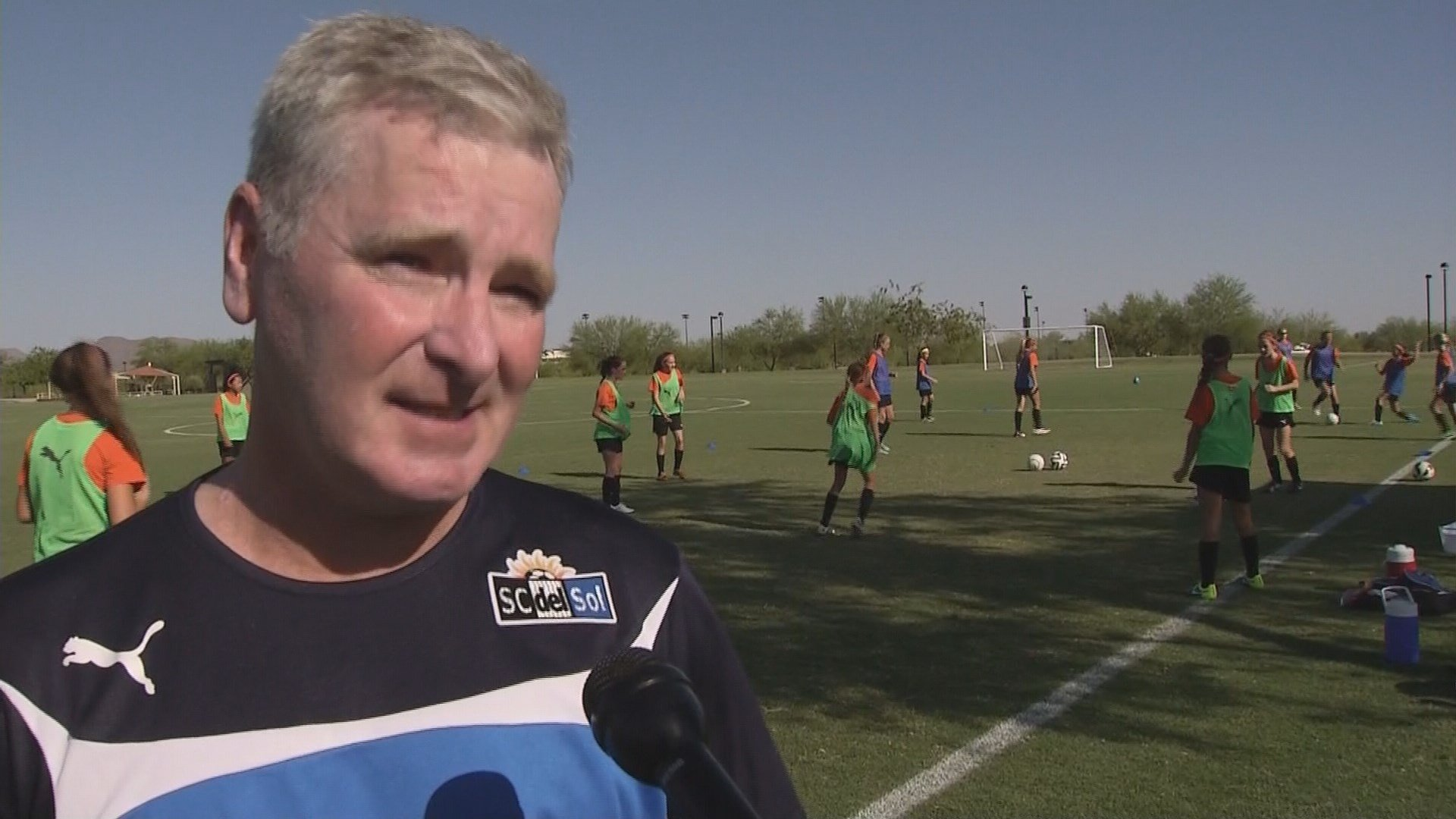 Paul Lester was Johnston's coach when she was 11 until she was 14. (Source: KPHO/KTVK)