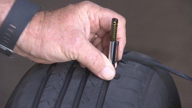 Check your tires for bulges, cracks and uneven tread wear. (Source: 3TV)
