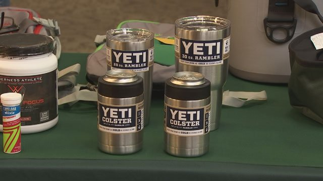 Yeti promised to keep your beverages as cold as possible. (Source: KPHO/KTVK)