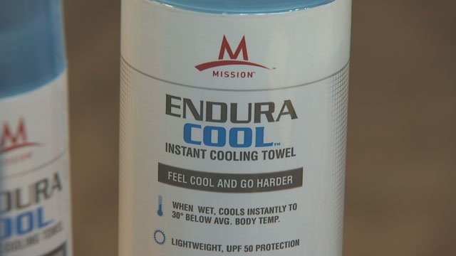 The Endura Cool needs only water to help you cool off. (Source: KPHO/KTVK)