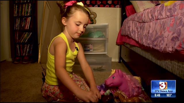 6-year-old Bella. (Source: KTVK)