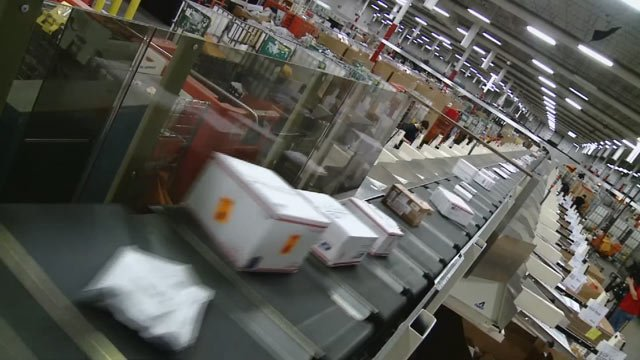 USPS said it handles more than 4 billion packages each year. (Source: 3TV)
