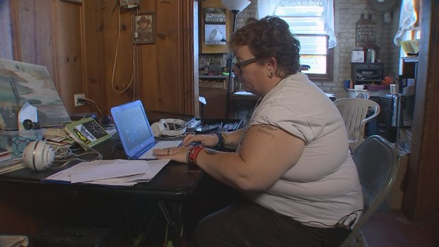 """The people who ripped me off, they called me,"" Brandi Fjeld told 3 On Your Side. (Source: 3TV)"