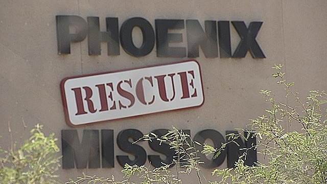 Dallariva got clean at Phoenix Rescue Mission. He now works in the learning center there. (Source: KPHO/KTVK)