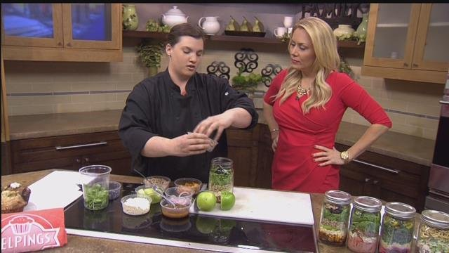 "Chef Danielle Roberts of ""Helpings Cafe."" (Source: KTVK)"