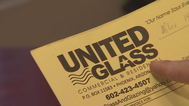 When Greene could not get anybody from United Glass on the phone, she turned to 3 On Your Side for help. (Source: 3TV)