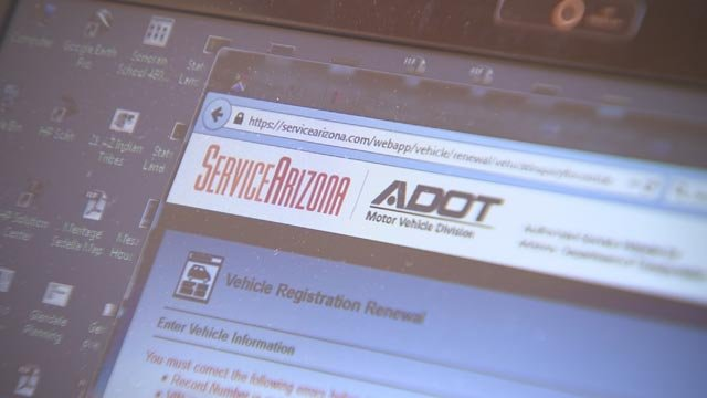 The real Service Arizona website (Source: 3TV)