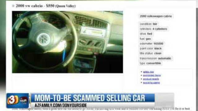 The Hashagens advertised their 2000 VW Cabrio on Craigslist. They were asking $500. (Source: 3TV)
