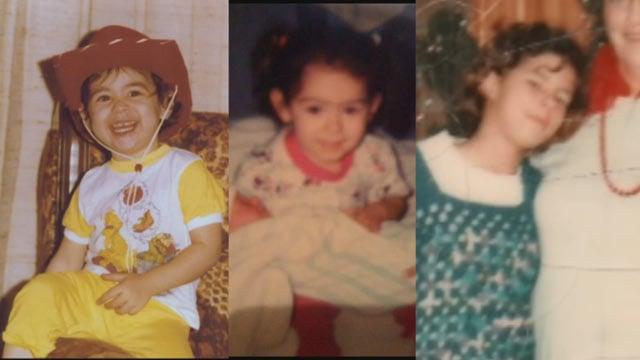 Rodis, Barrera and Marshall when they were children. (Source: 3TV)