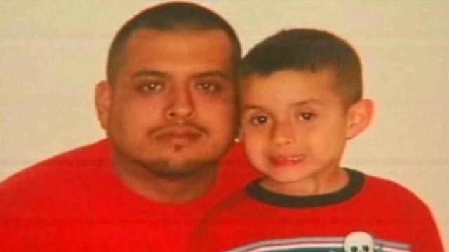 Angel Jaquez, 27, and 6-year-old Xavier Daniel Jaquez were shot to death. (Source: KPHO/KTVK file photo)