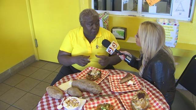 Miss Dee would love for you to get loaded at The Loaded Potato in Phoenix. (Source: 3TV)