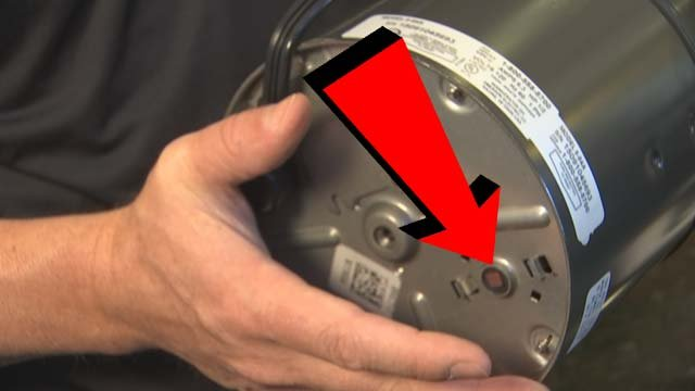 If your garbage disposal jams, ook for a little button underneath the disposal and press it a few times. (Source: 3TV)