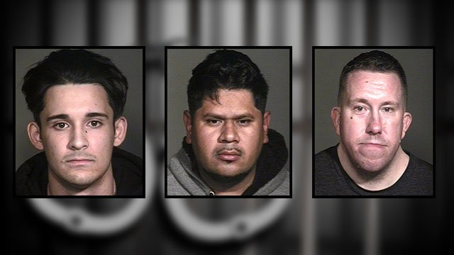 Booking photos of several of the suspects arrested. (Source: Mesa Police Department)