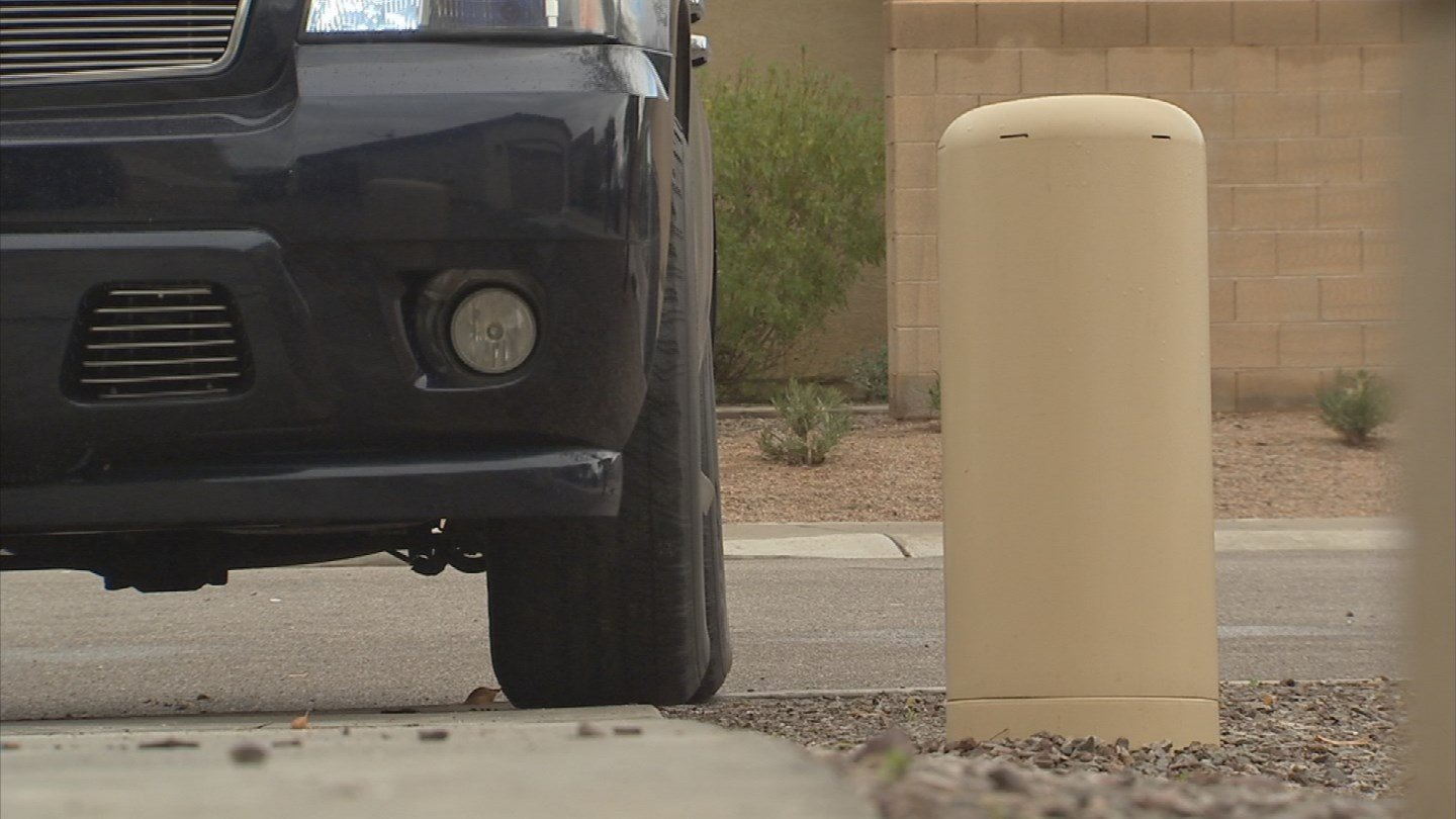 When Tony Montero pulls into his driveway, he has to be extra careful.(Source: 3TV)