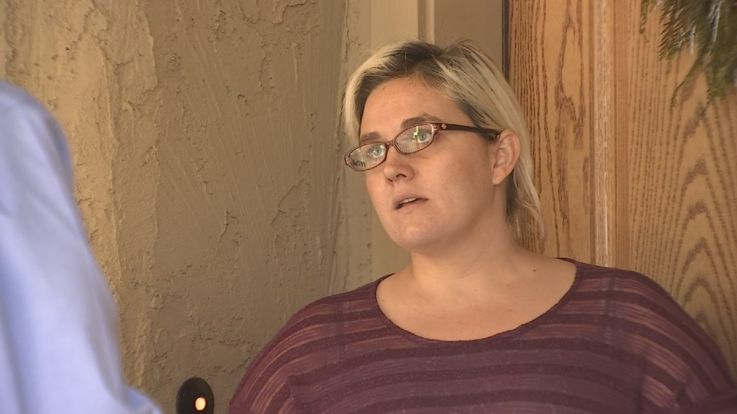 Gary Harper talked to Sandra Brown, who is not only the wife of the electrician, but also the office manager of Urban Lighting Concepts. (Source: 3TV)