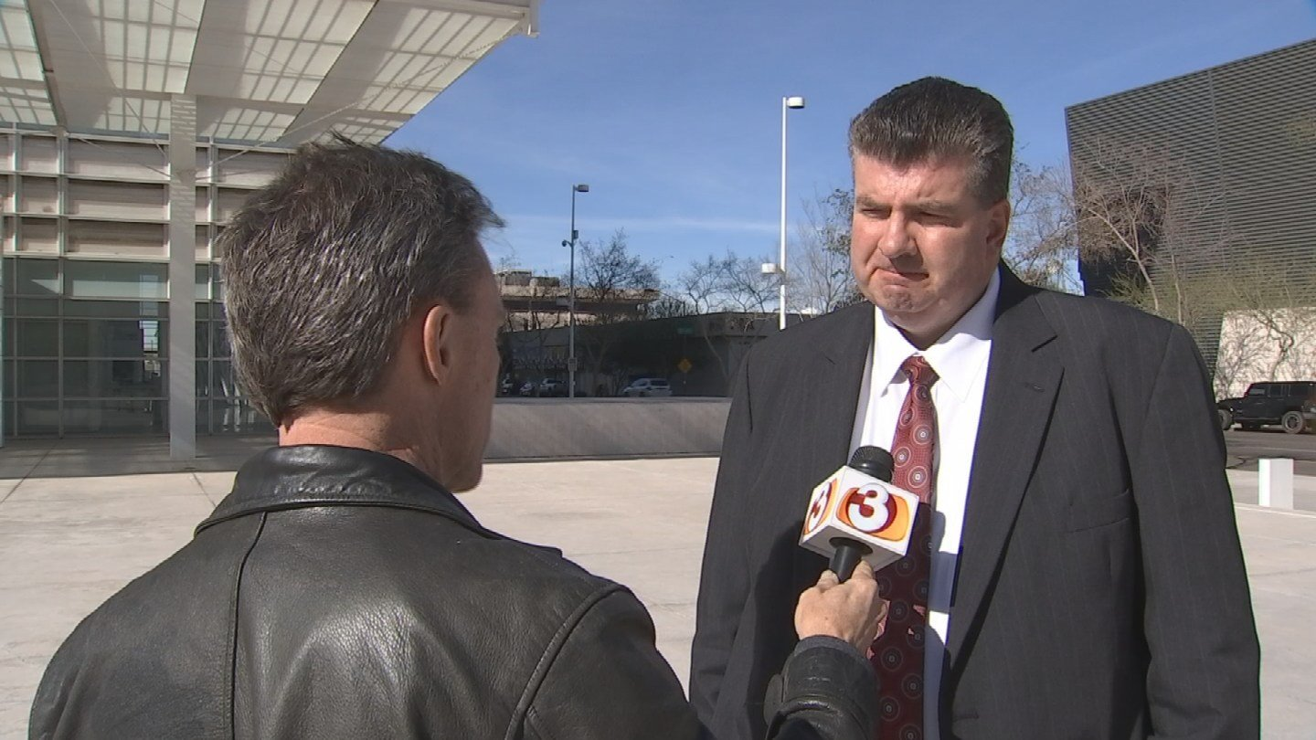 3TV's Mike Watkiss talks to Dowayne Barlow, a former follower of Warren Jeffs and a key witness in the discrimination trial again Colorado City and Hildale. (Source: 3TV)