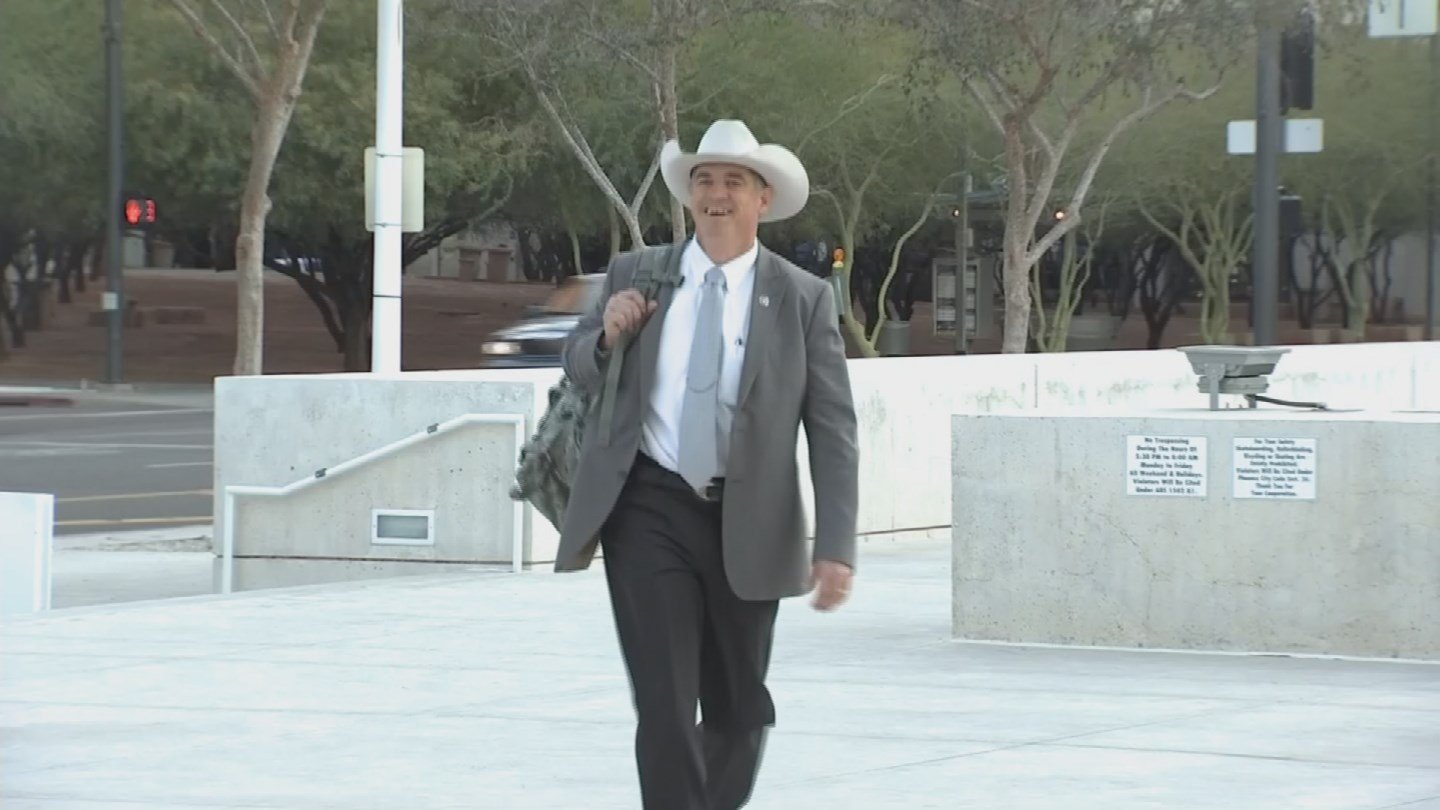 Texas Ranger Nick Hanna was once again on the witness stand Thursday morning. (Source: 3TV)