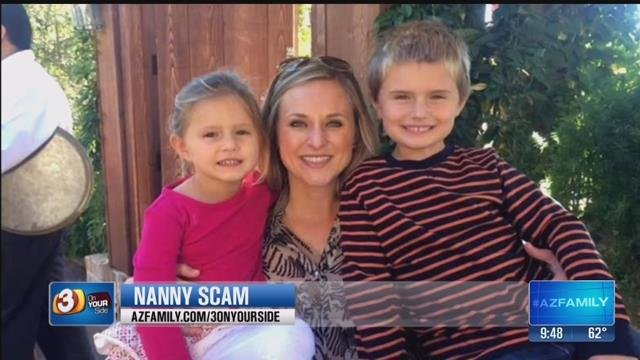 The photo the scammer sent Crystal apparently was lifted from an Internet news article indicating members of this family were actually victims of a Texas flood and were deceased. (Source: 3TV)