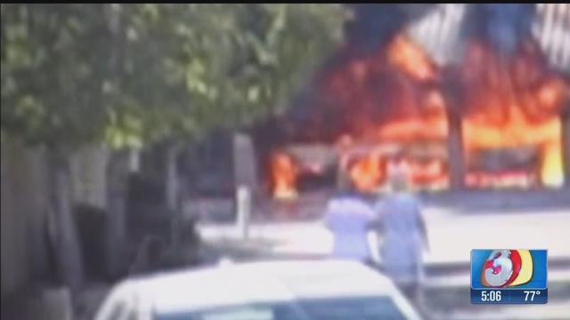 Firefighter hit by bullet in Gilbert house fire