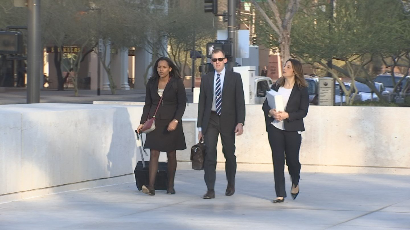 Department of Justice lawyers are close to wrapping up their case. (Source: 3TV)
