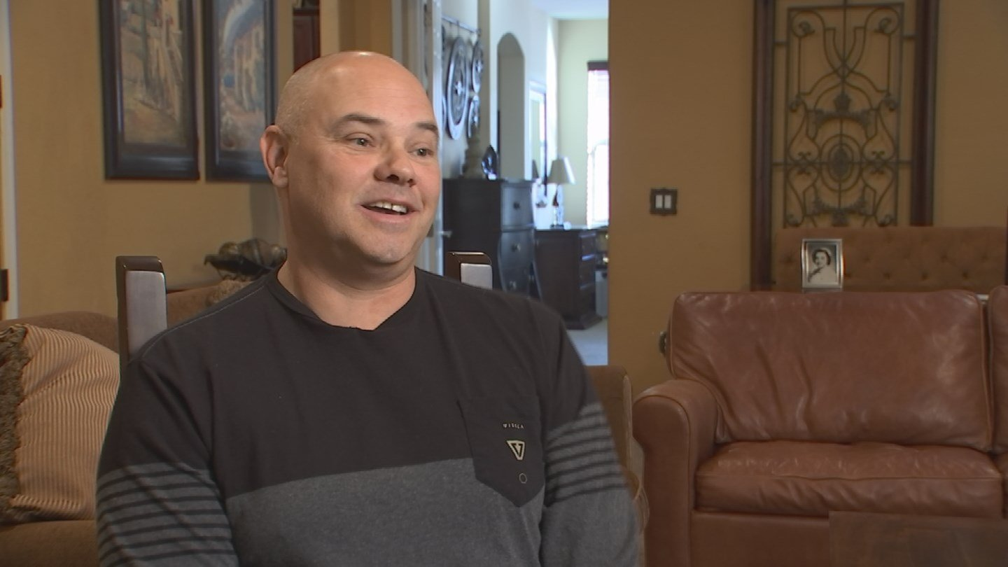 """""""I think I'm paying for somebody else's damage because I didn't get their insurance,"""" Marcus Mowery said. (Source: 3TV)"""
