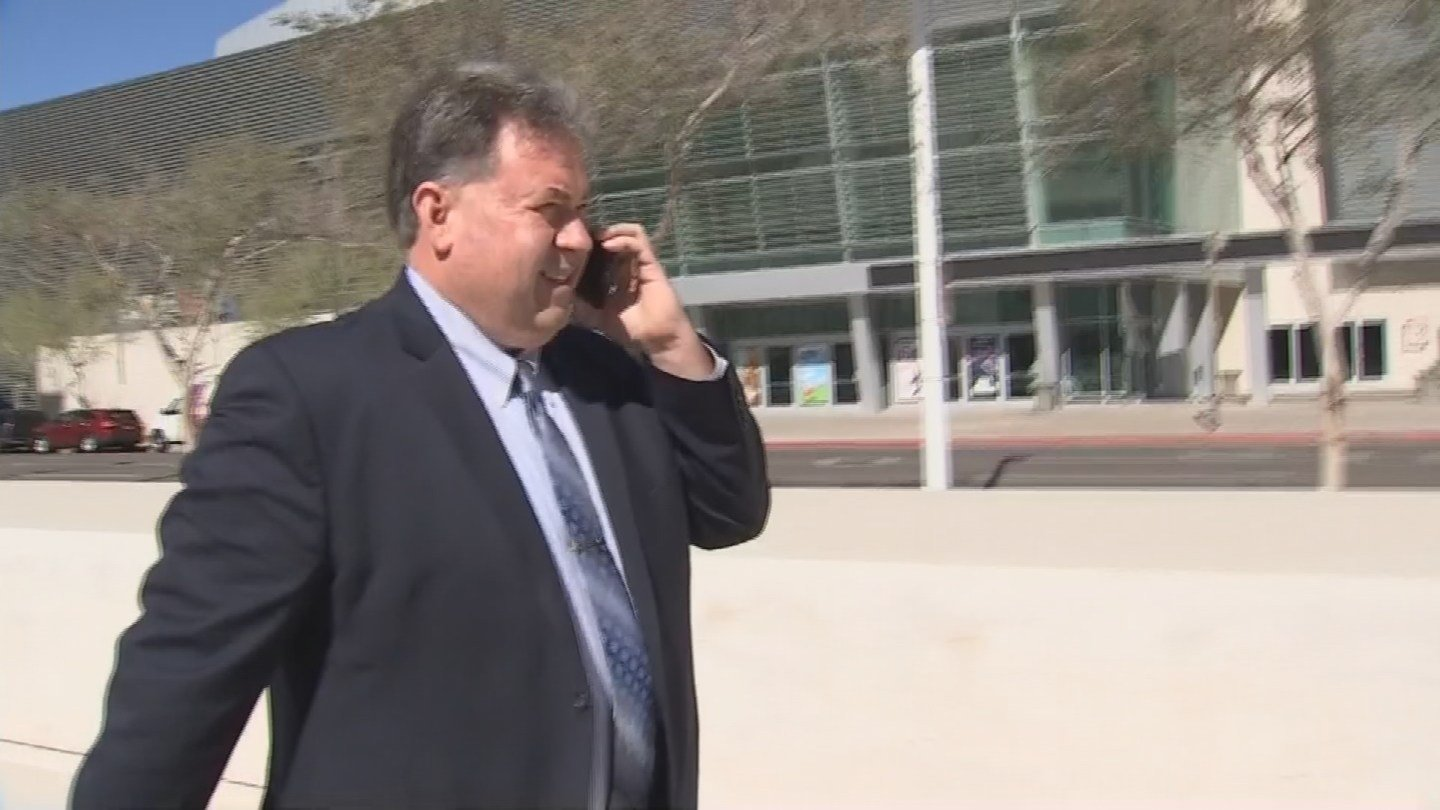 Ken Brendle contracts with Colorado City to serve as the tiny community's city prosecutor. (Source: KPHO/KTVK)