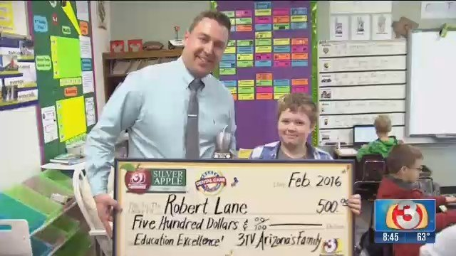 Sierra Verde teacher Robert Lane