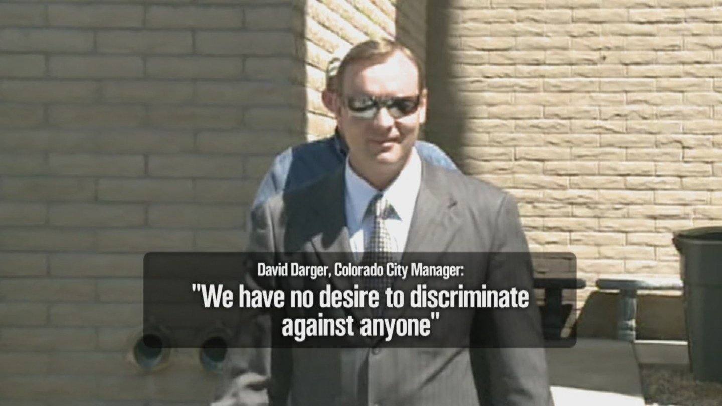"Colorado City Town Manager David Darger repeatedly told jurors that the Fundamentalist Church of Jesus Christ of Latter Day Saints does not ""control"" or ""direct"" the municipal governments of the two border towns. (Source: 3TV)"