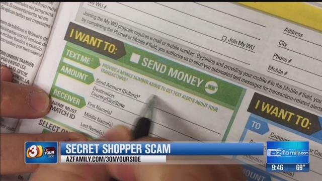 Secret shopper scam (Source: KPHO/KTVK)