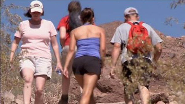 Hiking in Arizona (Source: 3TV/CBS 5)