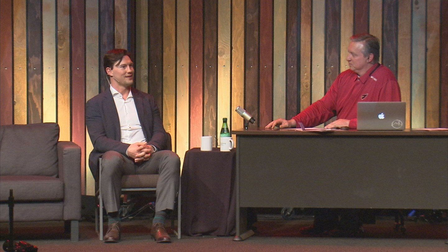 Doan recently spoke about his faith at a Valley church to a crowd of hundreds. (Source: 3TV)