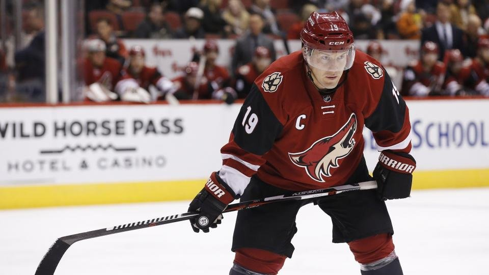 Doan became the Coyotes' franchise leader with 931 career points earlier this month. (Source: AP Photo/Ross D. Franklin)
