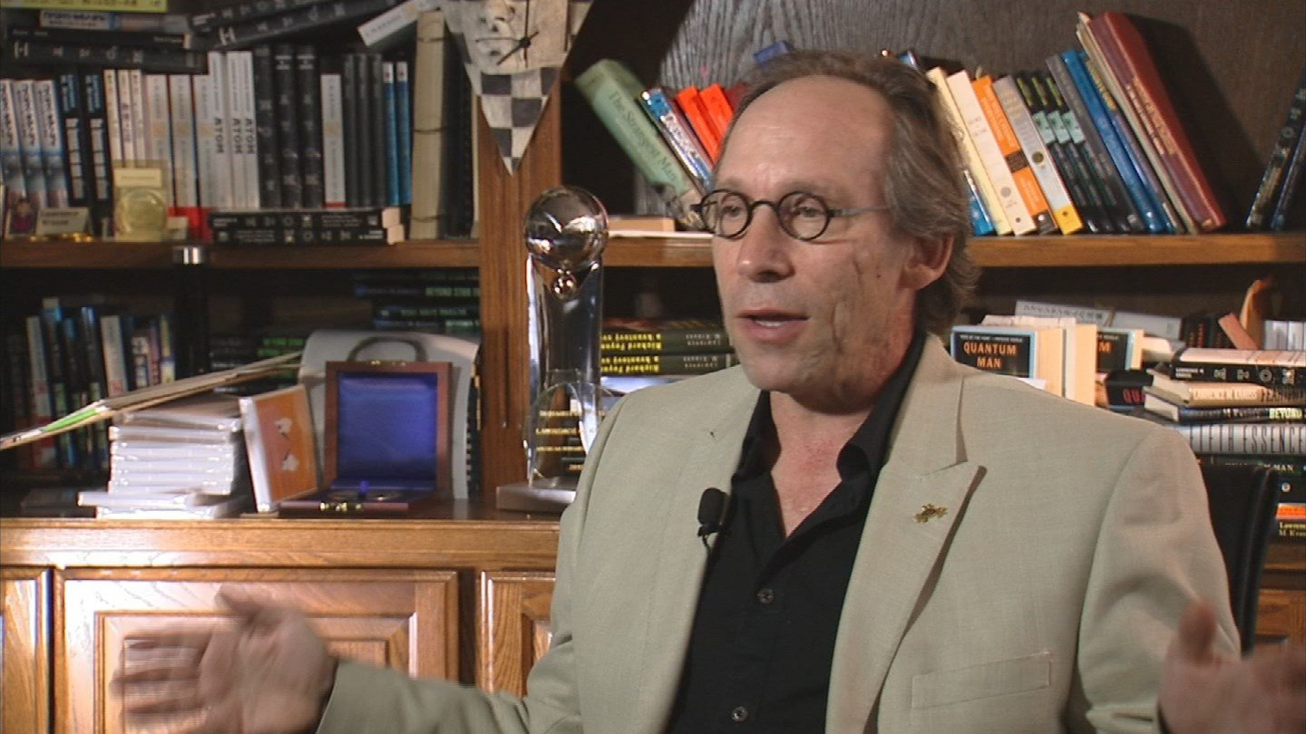 """We are allowed to treat someone with total disrespect because they lack faith,"" Arizona State University Professor Lawrence Krauss, a well-known atheist, said.  (Source: 3TV)"