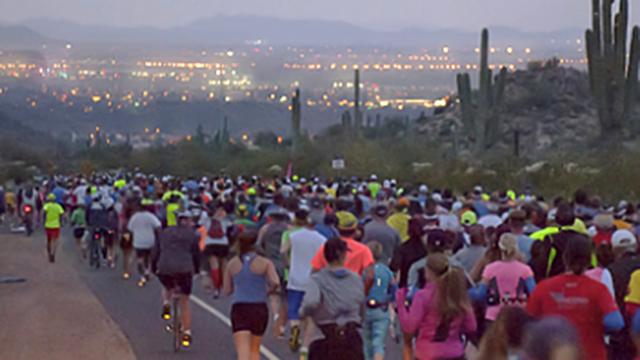 Mesa phoenix marathon to spark road closures saturday feb for Red mountain motors mesa az