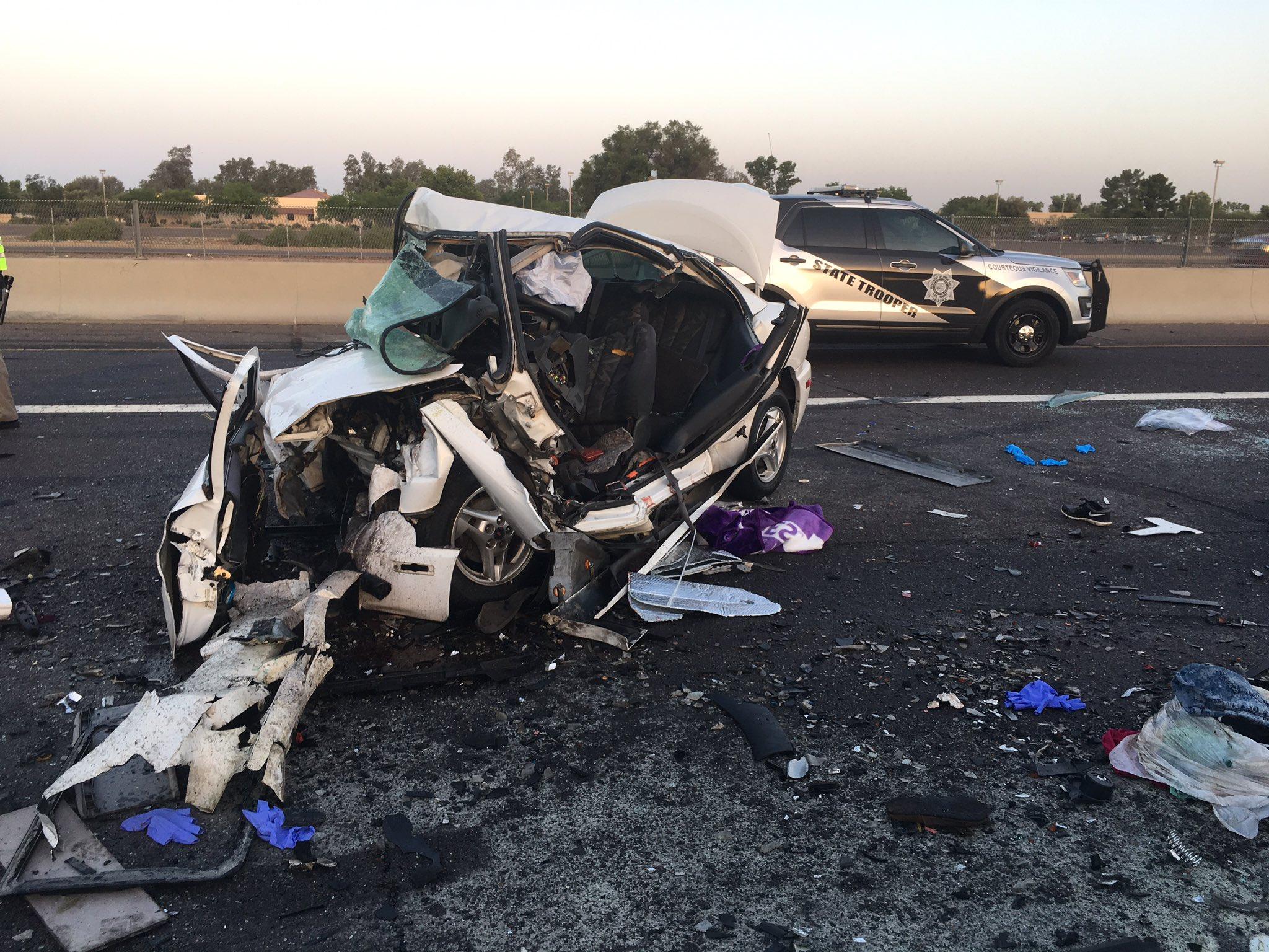 Wrong Way Driver Hits Kills Sisters On I 17 In Phoenix