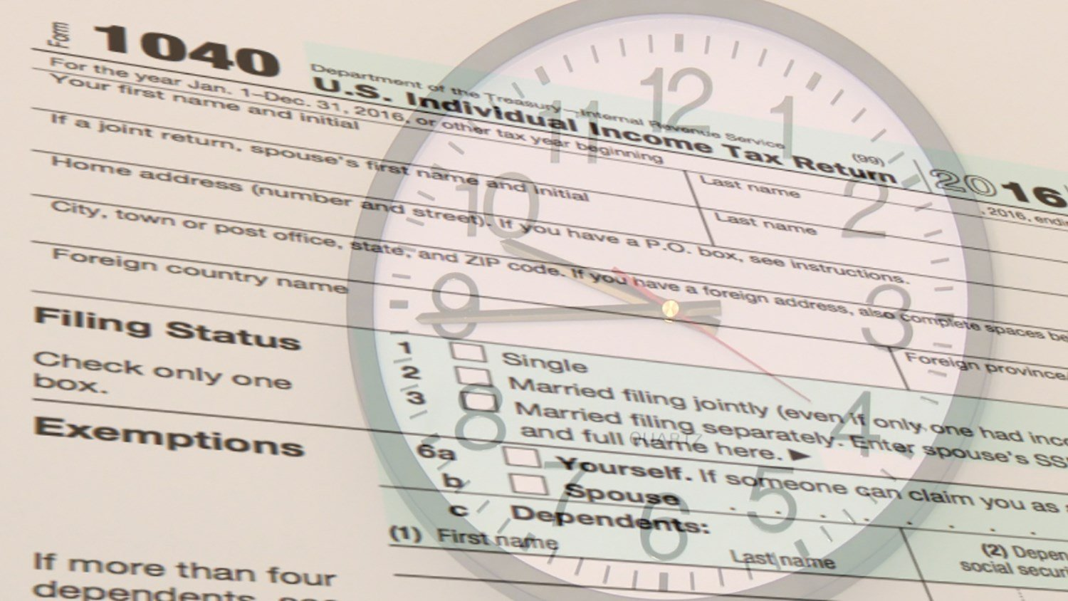Tuesday Is The Deadline To File Taxes For 2016, But It's Also The Last  Chance