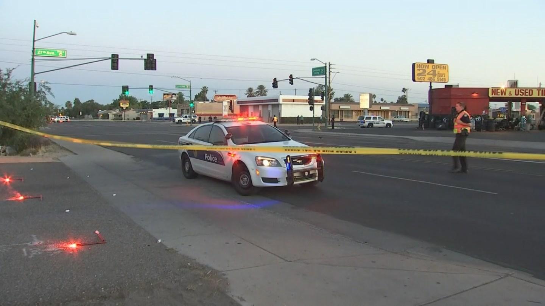 Man Shot Chest Drive Shooting Phoenix