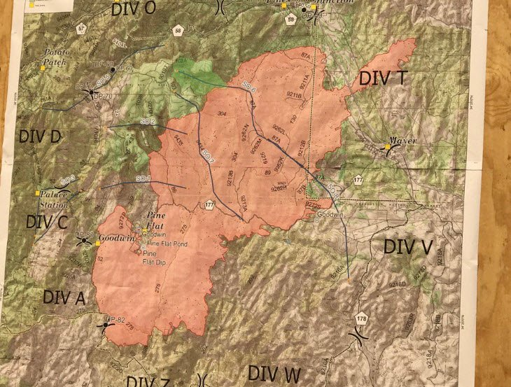 Here To See The Current Map Of The Fire Area