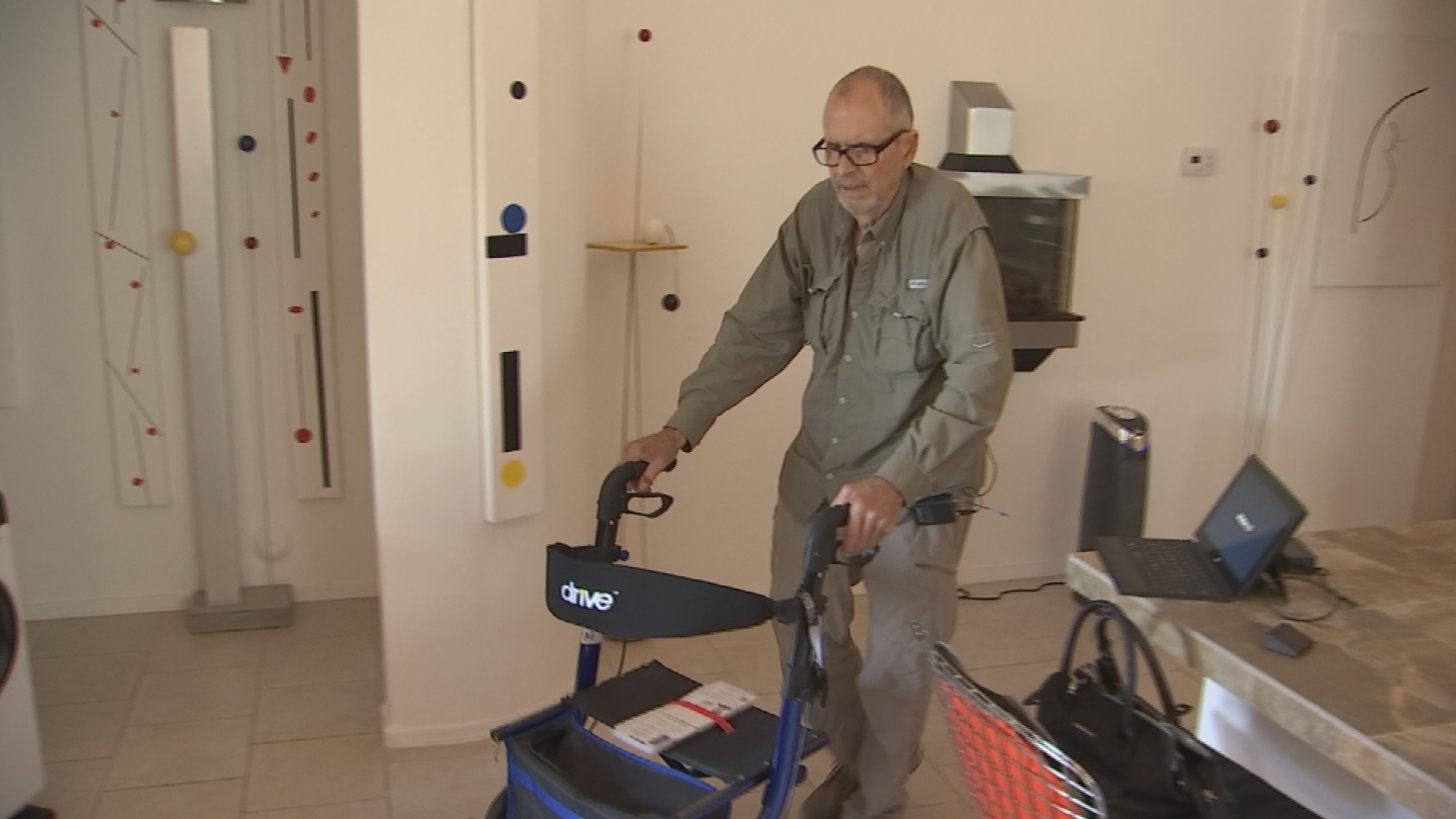 Someone comes to Jim Bibik's home in Surprise three times a week for an hour to help him with bathing and general housekeeping. But Thursday, he got a call that that's going away. (Source: 3TV/CBS 5)