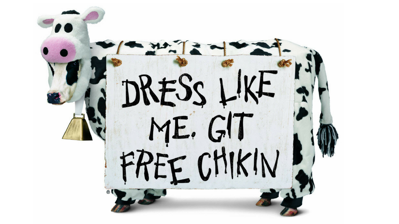 Chick-fil-A is celebrating Cow Appreciation Day with free food ...