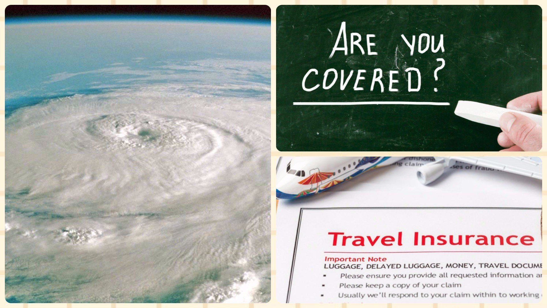 Hurricane insurance travel
